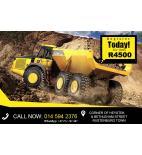 Dump truck ADT training in rustenburg, randburg, bloemfontein, botshabelo, welkom, odendaalsrus, bethlehem, harrismith, sasolburg, parys, kroonstad +27711101491