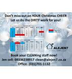 ALEJEN7 completely CLEAN services