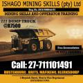 777 Dump truck course in rustenburg, kuruman +27815568232