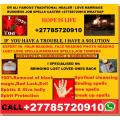 Powerful traditional healer / love spells caster Dr Ali +27785720910