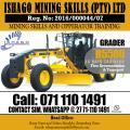 grader course in rustenburg,mafeteng,maseru +27815568232